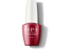 OPI -  GELCOLOR гель-лак GCL72 OPI Red  (15 мл)